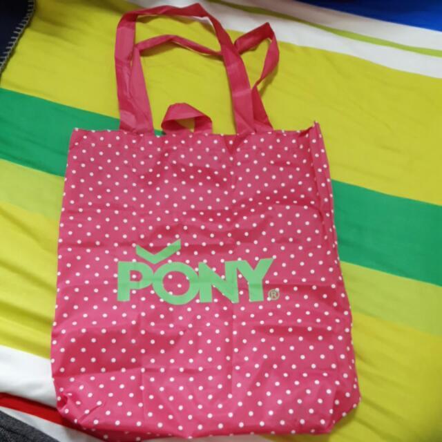 Pony購物袋