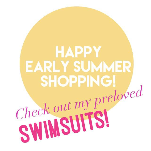 PRELOVED SWIMSUITS!👙