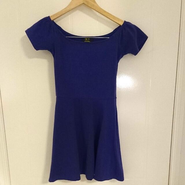 Purple Dress - Size S