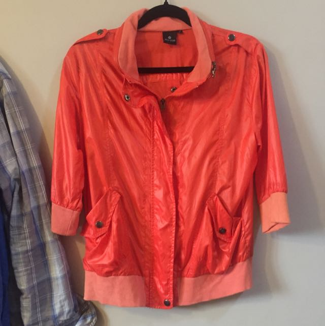 Red Orange Jacket