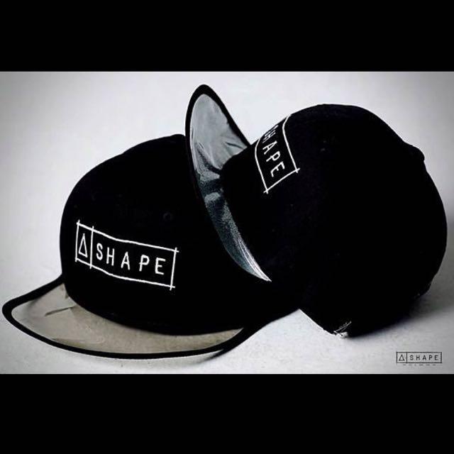 SHAPE Transparent Snapback / 銀亮彩軟質塑料 後扣棒球帽 Cap