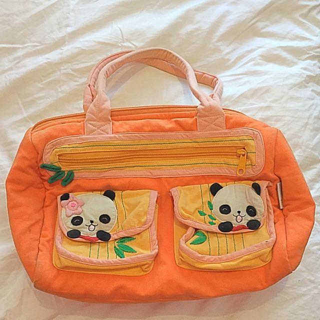 Soft Panda Handbag