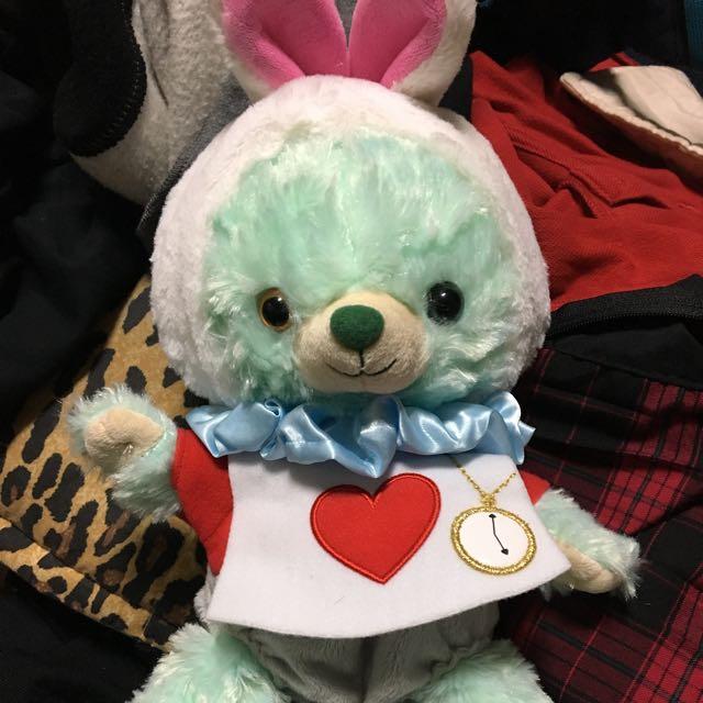 大學熊時間兔ss風帽子ss