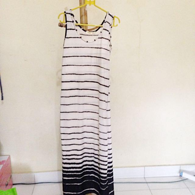 REPRICE!! striped long dress