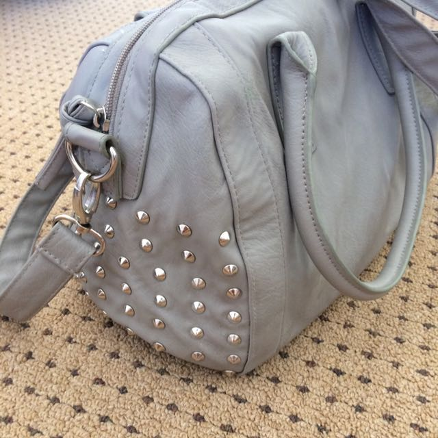 PRICE REDUCED Studded grey Bag