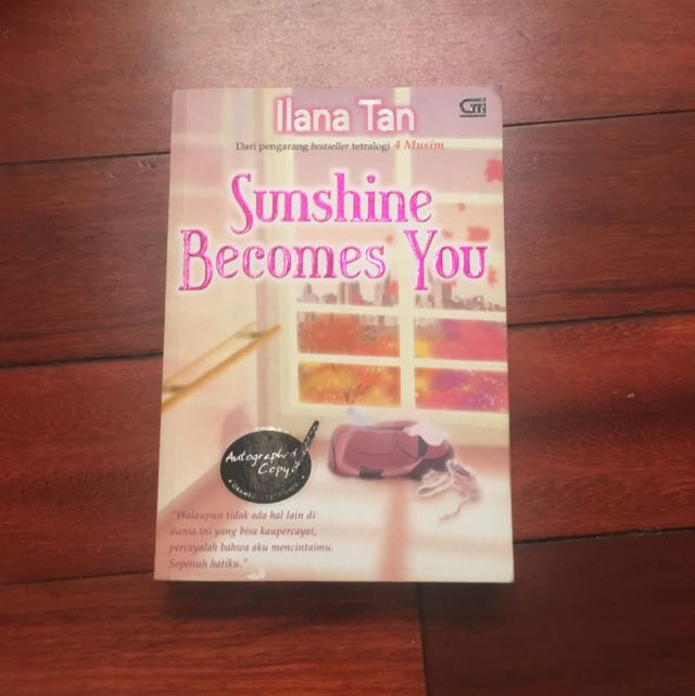 Sunshine Becomes You- Autographed Copy!