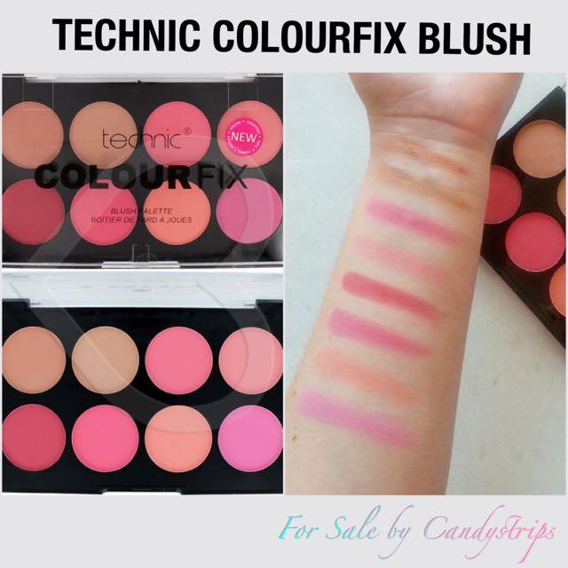 Technic Colour Fix Pressed Powder Blush Palette