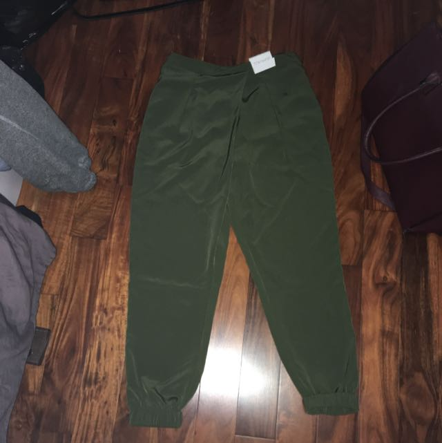 Topshop Green Trousers