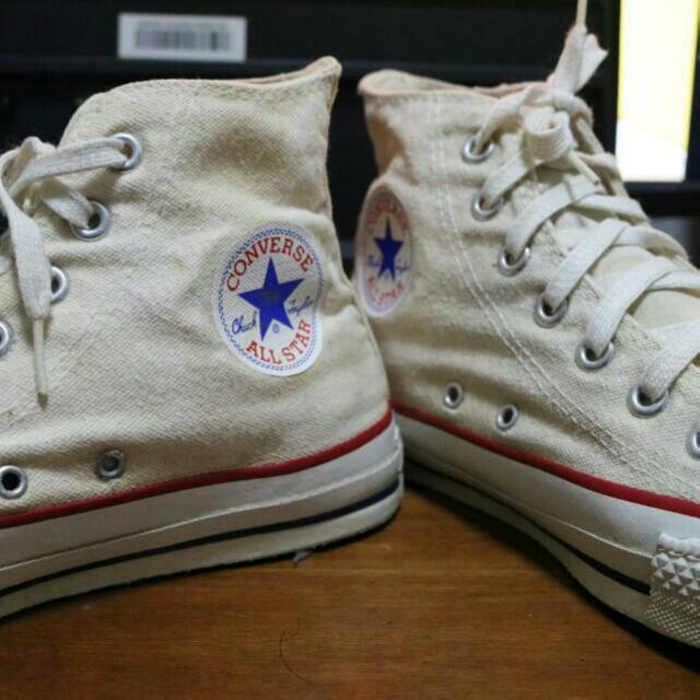 True VINTAGE CONVERSE CHUCK HIGH MADE IN USA