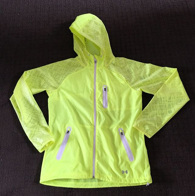 UNDER ARMOUR FLURO YELLOW