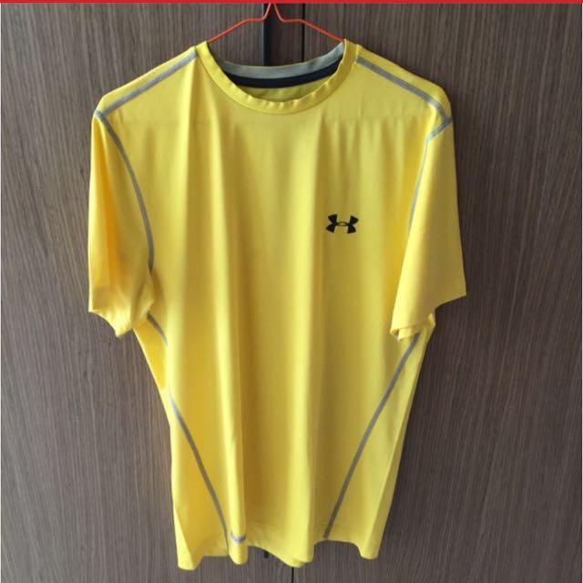 Under Armour Yellow Heat Gear