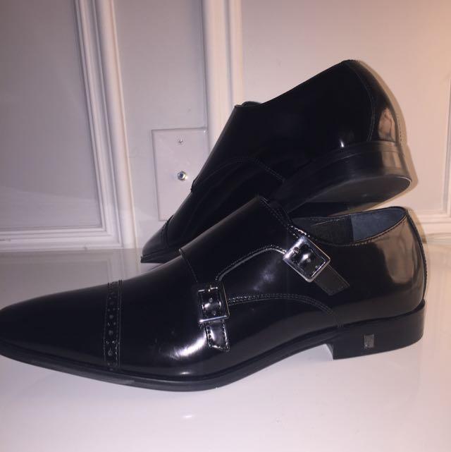 Versace Men's Leather Dress Shoe