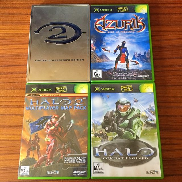 Xbox Games Set Of 4