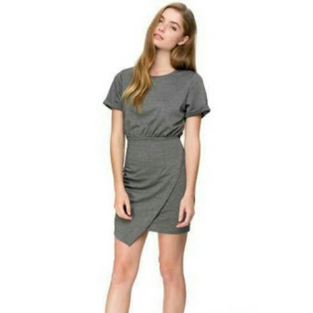 (NEW) Zalora Wrap Skirt Dress