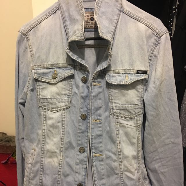 Zara Man Basic Denim Jacket