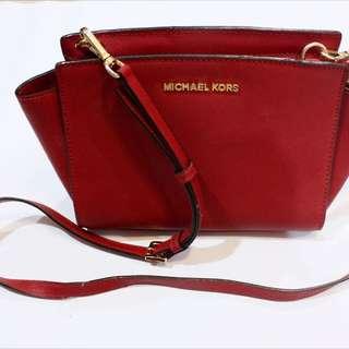 Authentic Michael Kors Selma Messenger Bag
