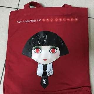 超可愛 shuuemura 手提袋
