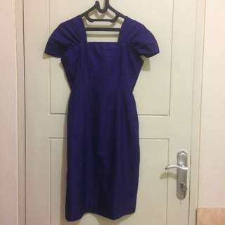 Purple A Dress Size S High Quality Of Material