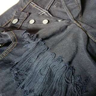 Levis Ripped Short