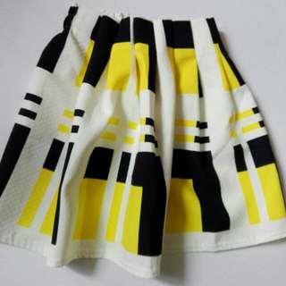 Vintage Flare Mini Skirt