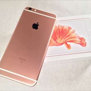 Iphone 6s Plus Rose Gold 64GB MY Set