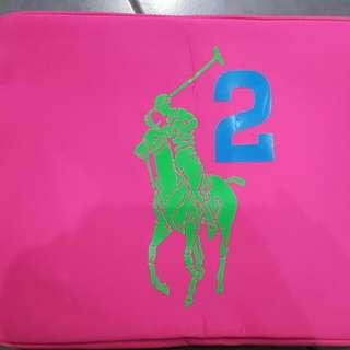 "Brand New Ralph Lauren Pink 16"" Laptop Case"