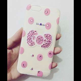 ON SALE! Hello Kitty Pink Studded Iphone 6/6s Case