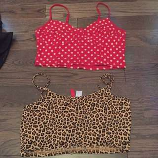 Crop tops (5$ each)