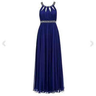 BNWT Forever New Silk Gown