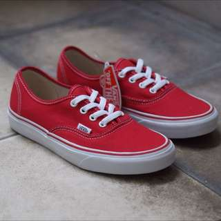 Vans Authentic RED Original!!!
