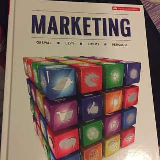 Marketing Textbook Third Canadian Edition