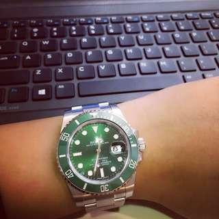 Jam tangan berjenama dan barangan kemas terpakai