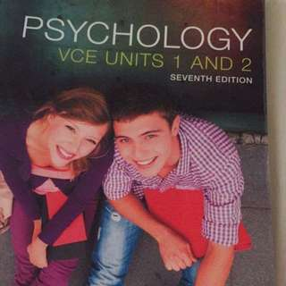 Psychology Units 1&2 Textbook