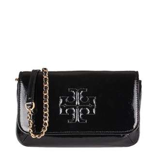 BNWT Tory Burch Cross Over Patent Leather Purse