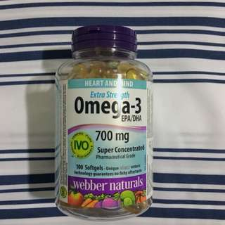 New, Unopened Omega-3
