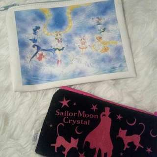 Sailor Moon Crystal Pouch Set