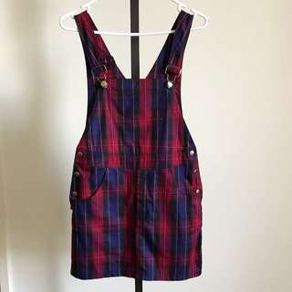 Her Pony Size Small Graham Pinafore Dress