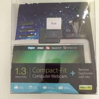 New iLuv 1.3 Mega-pixel Compact Web Cam