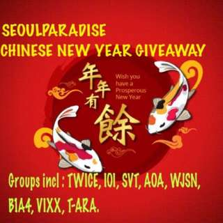 Repost seoulparadise giveaway