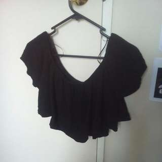 Mirrou off The Shoulder Mini Top