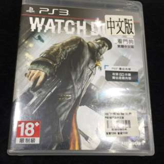 PS3-Watch Dog