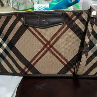 Burberry Clutch (Kw) Repriced