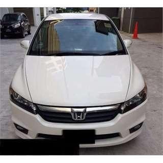 Honda Stream CNG for Rental