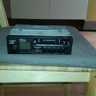 Genuine stereo  Cassette for toyota corolla seca,  1992