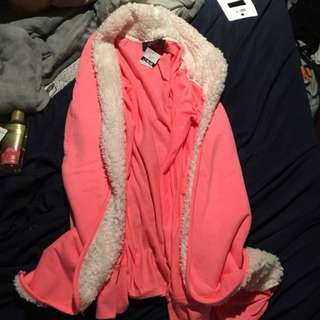Pink House Coat