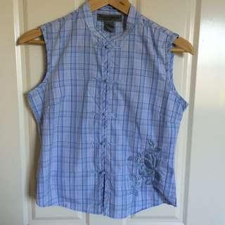 Mandarin collar Padini Authentics blouse