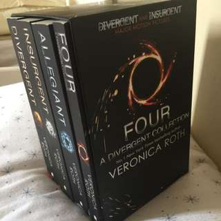 Four Divergent Collection Books