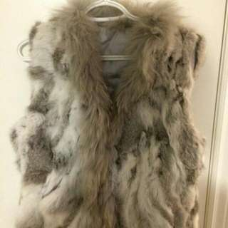 Real AUTHENTIC RabbitFur Vest