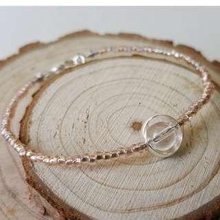 粉色手鏈 Handmade bracelet