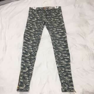 Sass and Bide Camo Print Jeans